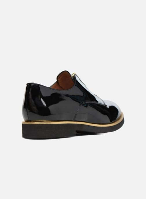 Mocasines Made by SARENZA Pastel Affair Chaussures à Lacets #1 Negro vista de frente