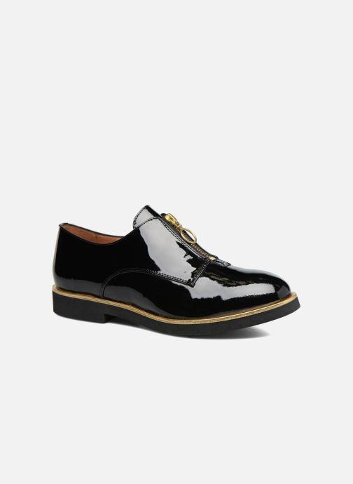 Mocassins Made by SARENZA Pastel Affair Chaussures à Lacets #1 Noir vue droite