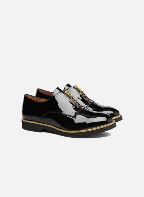 Mocassins Made by SARENZA Pastel Affair Chaussures à Lacets #1 Noir vue derrière