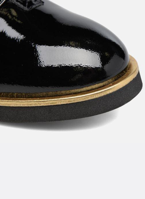 Mocassins Made by SARENZA Pastel Affair Chaussures à Lacets #1 Noir vue gauche