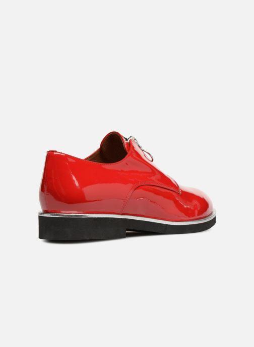 Mocassins Made by SARENZA Pastel Affair Chaussures à Lacets #1 Rouge vue face