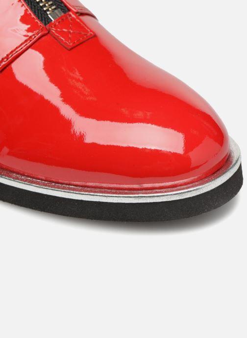 Mocassins Made by SARENZA Pastel Affair Chaussures à Lacets #1 Rouge vue gauche