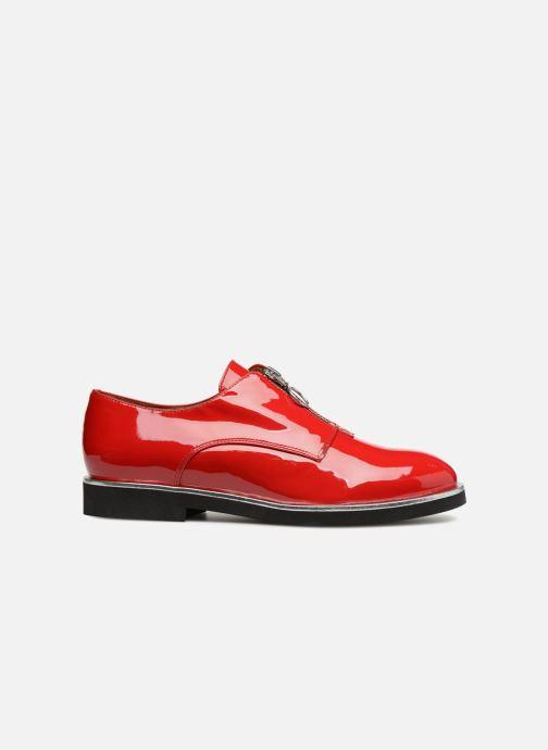 Loafers Made by SARENZA Pastel Affair Chaussures à Lacets #1 Röd detaljerad bild på paret