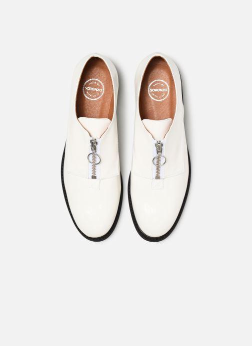 Mocassins Made by SARENZA Pastel Affair Chaussures à Lacets #1 Blanc vue portées chaussures