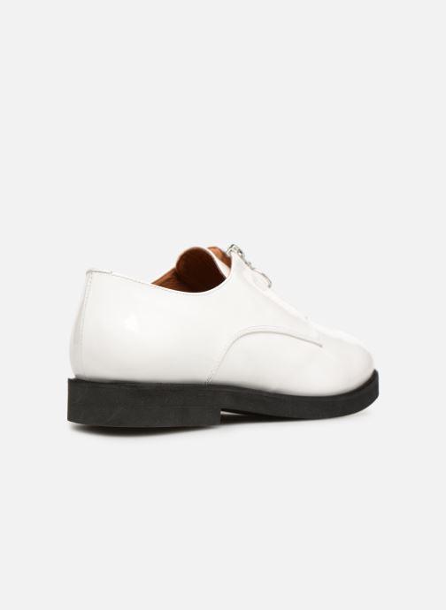 Mocassins Made by SARENZA Pastel Affair Chaussures à Lacets #1 Blanc vue face
