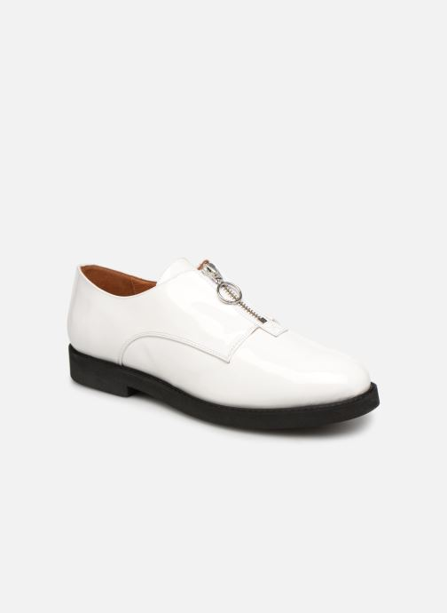 Loafers Made by SARENZA Pastel Affair Chaussures à Lacets #1 White view from the right