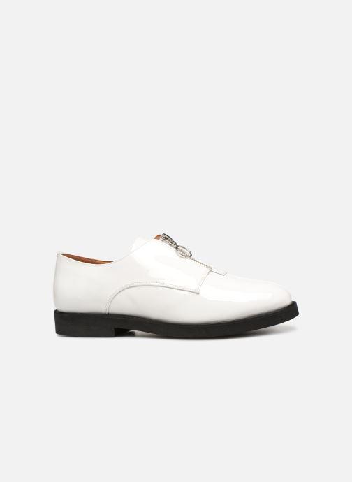 Mocassins Made by SARENZA Pastel Affair Chaussures à Lacets #1 Blanc vue détail/paire