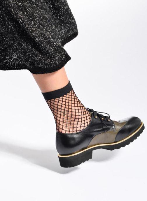 Chaussures à lacets Made by SARENZA Legit Legion #4 Multicolore vue bas / vue portée sac