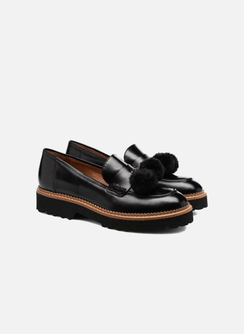 Loafers Made by SARENZA 90's Girls Gang Mocassins #4 Black back view
