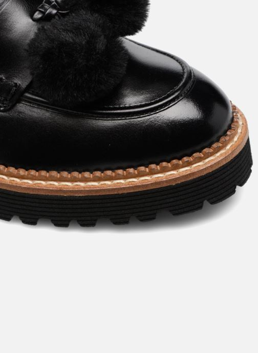 Loafers Made by SARENZA 90's Girls Gang Mocassins #4 Black view from the left