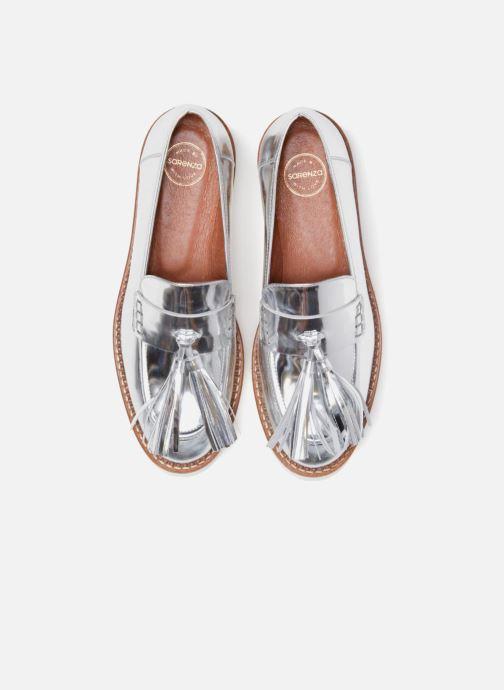 Mocassins Made by SARENZA 90's Girls Gang Mocassins #4 Argent vue portées chaussures