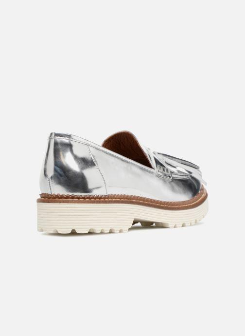 Loafers Made by SARENZA 90's Girls Gang Mocassins #4 Sølv se forfra