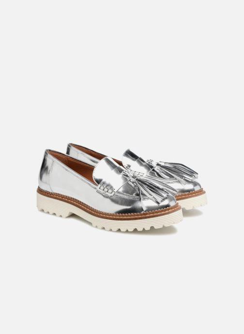 Loafers Made by SARENZA 90's Girls Gang Mocassins #4 Sølv se bagfra