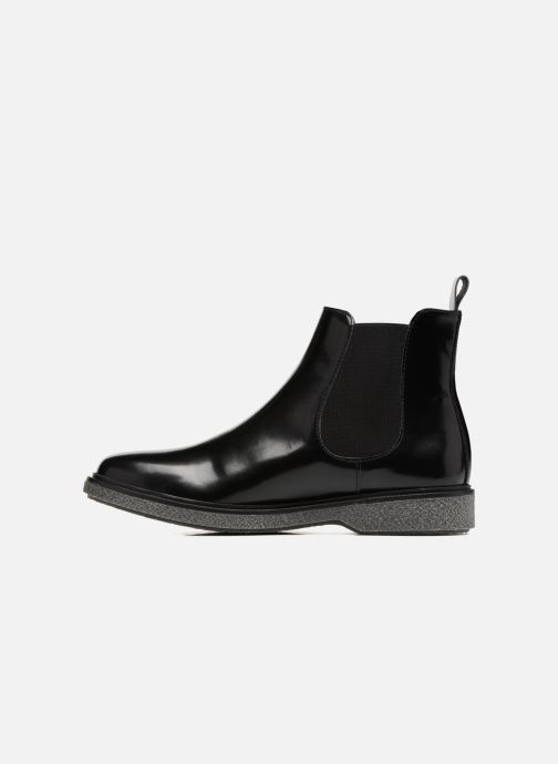 Bottines et boots Schmoove Woman Darwin Chelsea Polido Noir vue face