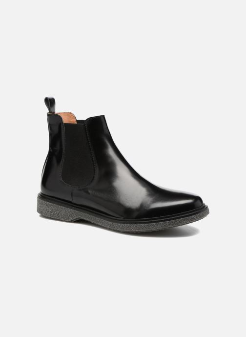 Bottines et boots Schmoove Woman Darwin Chelsea Polido Noir vue détail/paire