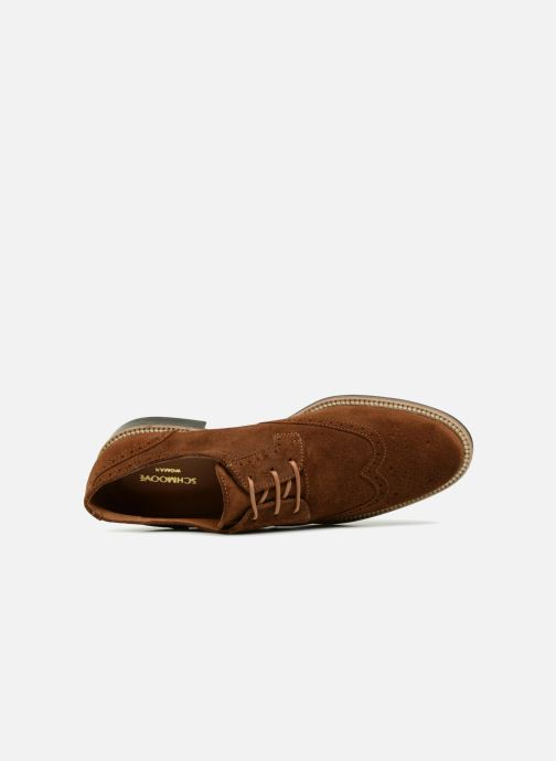 Lace-up shoes Schmoove Woman Newton Perfo Brown view from the left