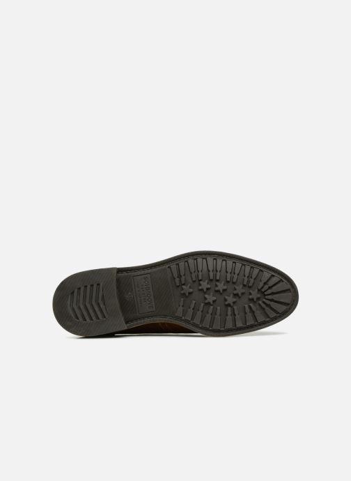Chaussures à lacets Schmoove Woman Newton Perfo Marron vue haut