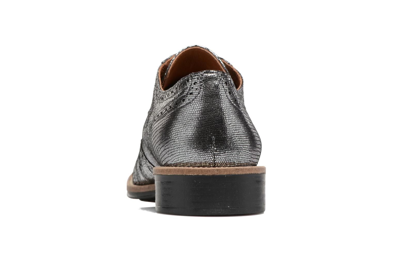 Chaussures à lacets Schmoove Woman Newton perfo Diamond Argent vue droite