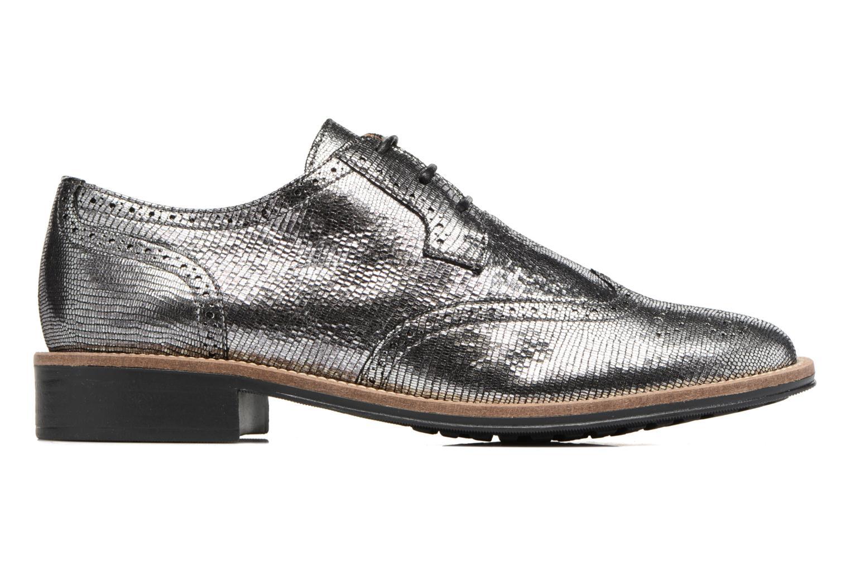 Chaussures à lacets Schmoove Woman Newton perfo Diamond Argent vue derrière