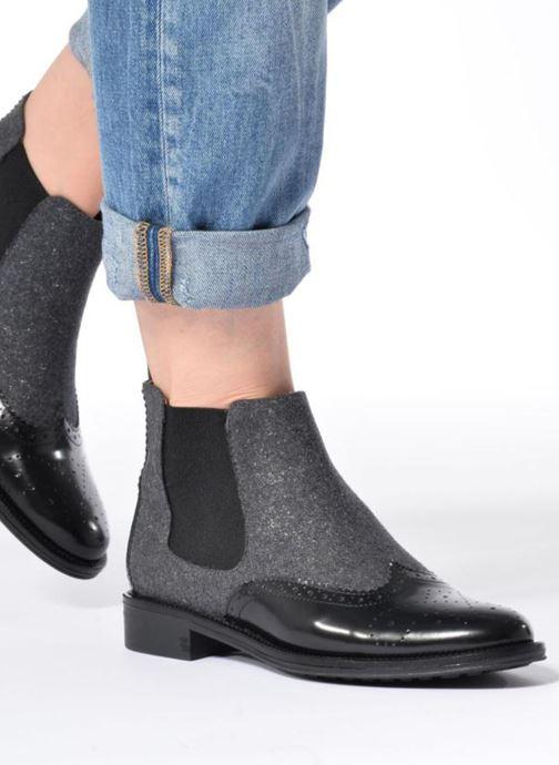 Bottines et boots Schmoove Woman Newton Jodpur Box Gris vue bas / vue portée sac