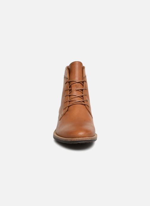 Bottines et boots Schmoove Woman Newton Boots Marron vue portées chaussures
