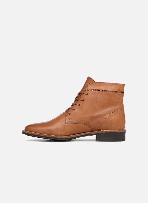 Bottines et boots Schmoove Woman Newton Boots Marron vue face