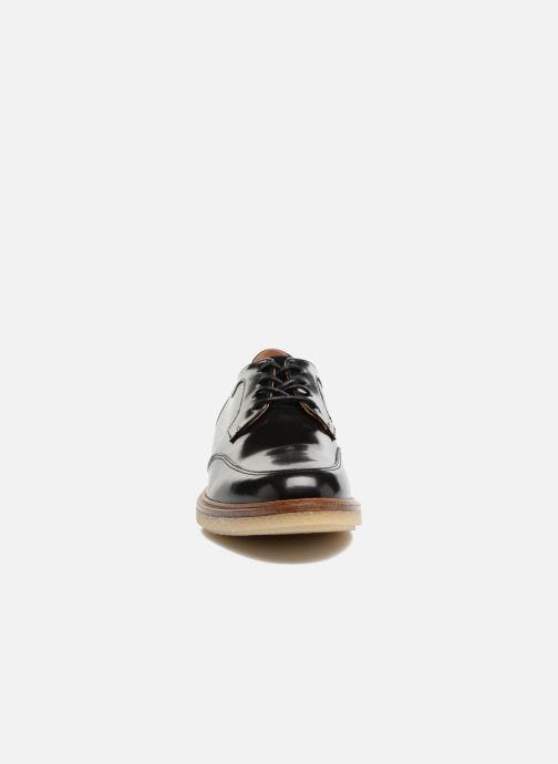 Chaussures à lacets Schmoove Woman Darwin derby Polido Noir vue portées chaussures