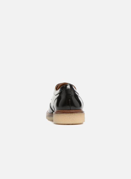 Chaussures à lacets Schmoove Woman Darwin derby Polido Noir vue droite