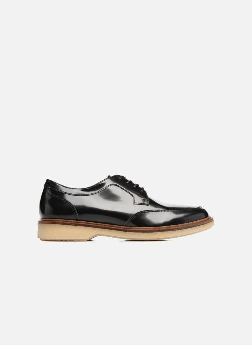 Chaussures à lacets Schmoove Woman Darwin derby Polido Noir vue derrière