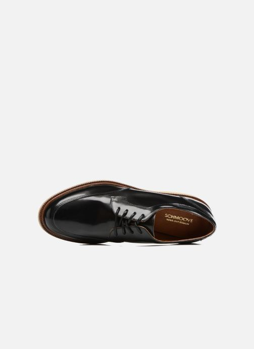 Chaussures à lacets Schmoove Woman Darwin derby Polido Noir vue gauche