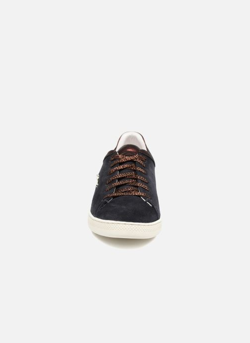 Trainers Schmoove Woman Sally sneaker Suede Black model view