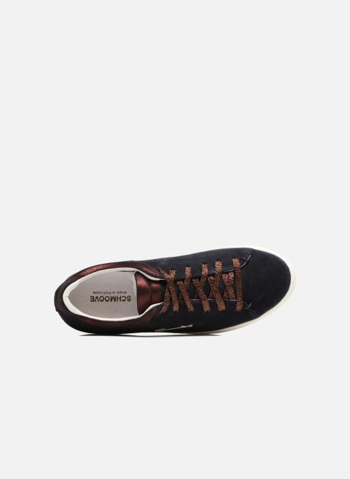 Trainers Schmoove Woman Sally sneaker Suede Black view from the left