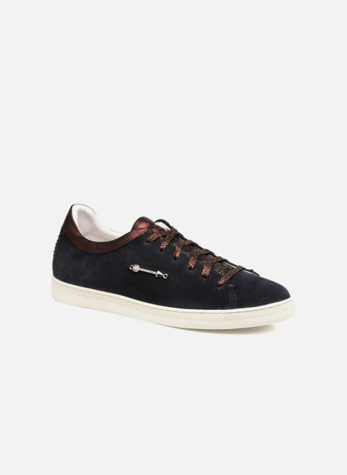 Trainers Schmoove Woman Sally sneaker Suede Black detailed view/ Pair view