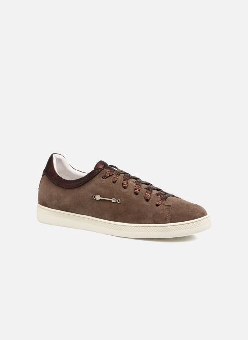 Baskets Schmoove Woman Sally sneaker Suede Marron vue détail/paire