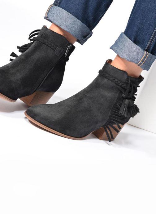 Bottines et boots Schmoove Woman Secret Aras Croute vintage Noir vue bas / vue portée sac