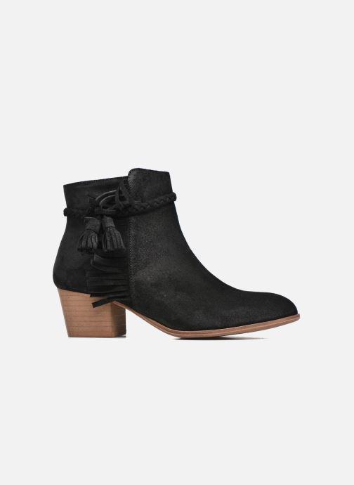 Bottines et boots Schmoove Woman Secret Aras Croute vintage Noir vue derrière