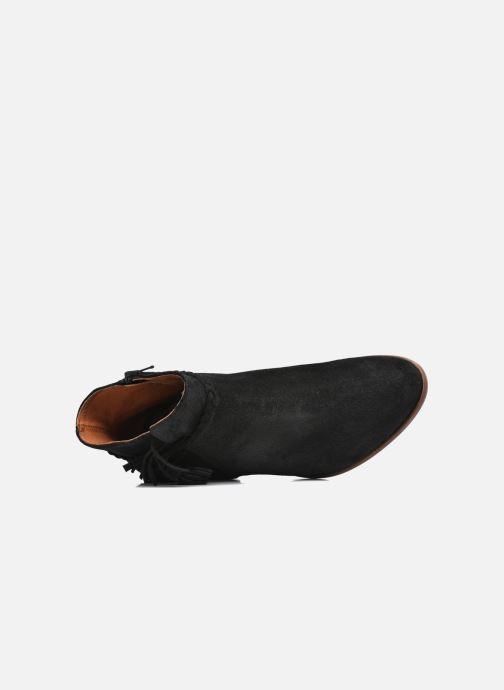 Bottines et boots Schmoove Woman Secret Aras Croute vintage Noir vue gauche