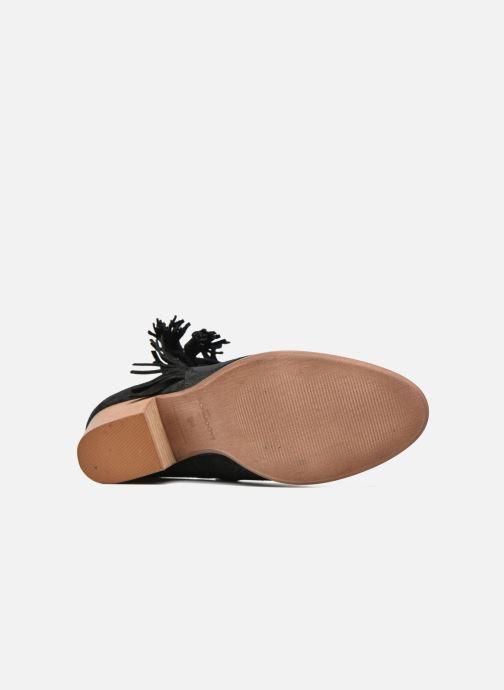 Bottines et boots Schmoove Woman Secret Aras Croute vintage Noir vue haut