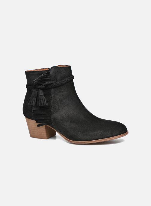 Bottines et boots Schmoove Woman Secret Aras Croute vintage Noir vue détail/paire