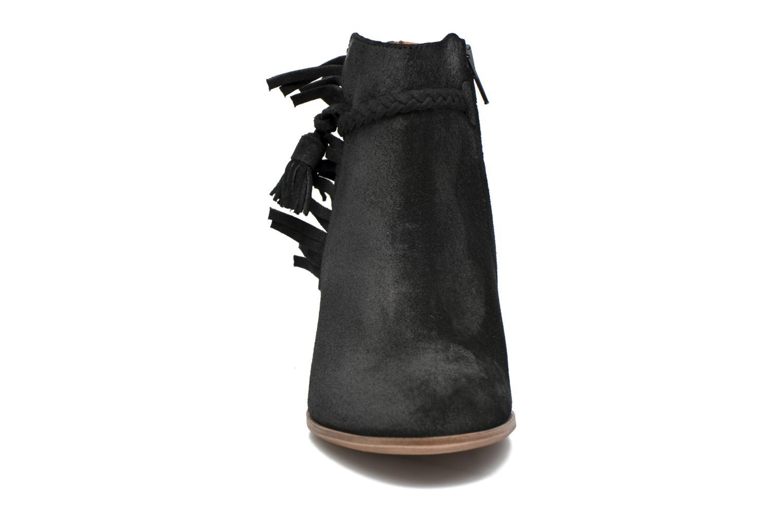 Bottines et boots Schmoove Woman Secret Aras Croute vintage Noir vue portées chaussures