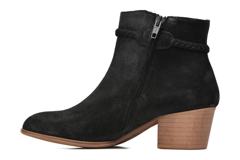 Bottines et boots Schmoove Woman Secret Aras Croute vintage Noir vue face