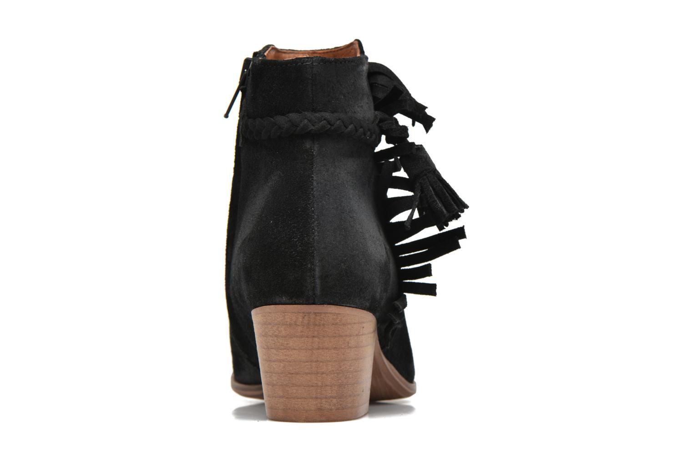 Bottines et boots Schmoove Woman Secret Aras Croute vintage Noir vue droite
