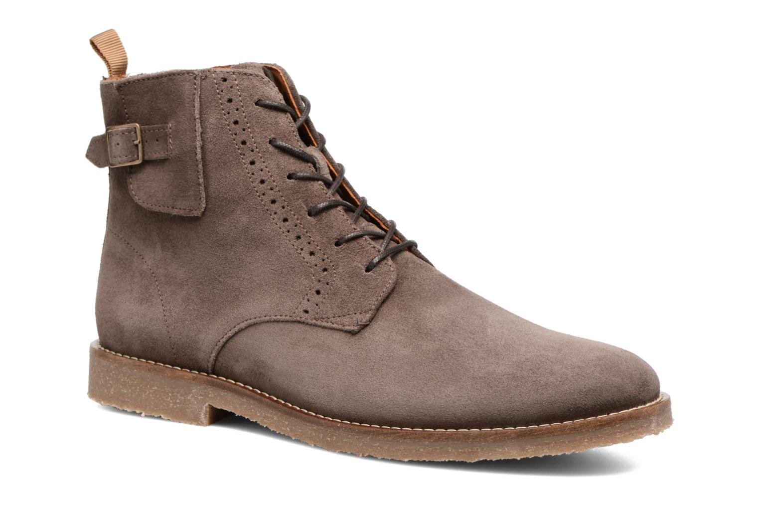 Ankle boots Schmoove Daze Boots Suede Brown detailed view/ Pair view