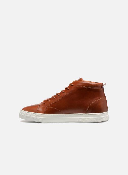 Sneakers Schmoove Spark Mid Marrone immagine frontale