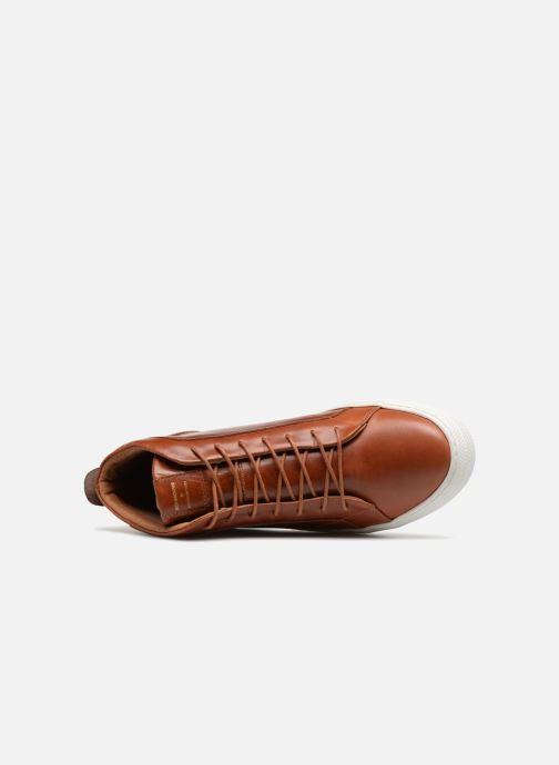 Sneakers Schmoove Spark Mid Marrone immagine sinistra