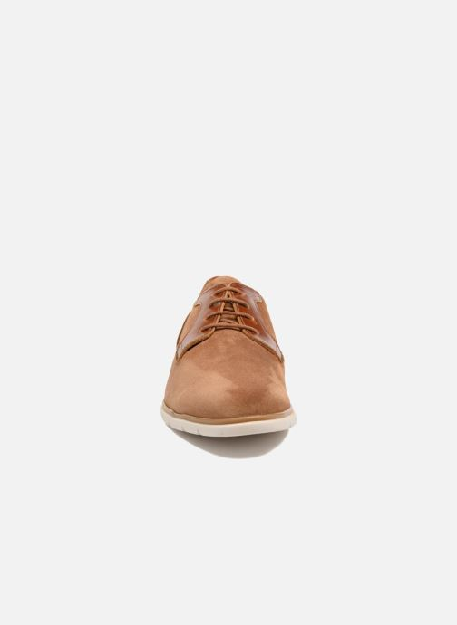 Lace-up shoes Schmoove Shaft Club Suede Brown model view