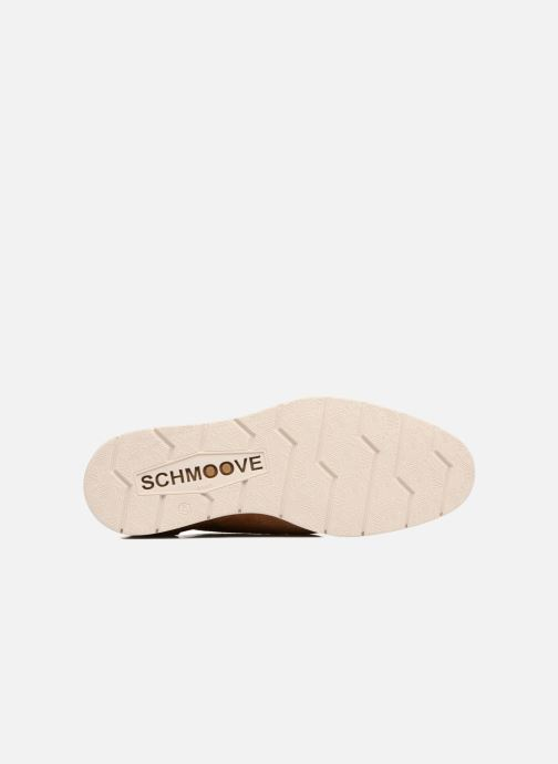 Lace-up shoes Schmoove Shaft Club Suede Brown view from above
