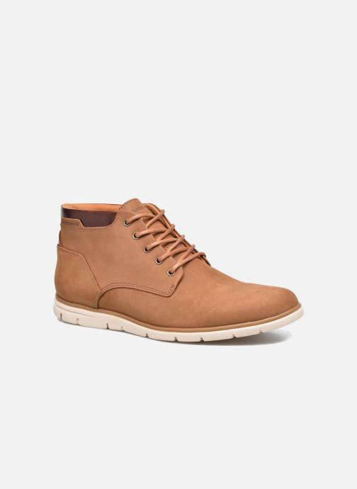 Bottines et boots Schmoove Shaft Mid Marron vue détail/paire