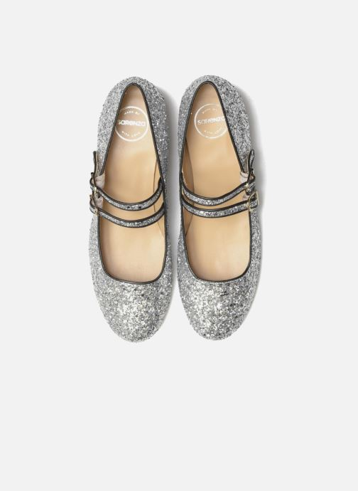 Ballet pumps Made by SARENZA Funtastic Chick #2 Silver model view