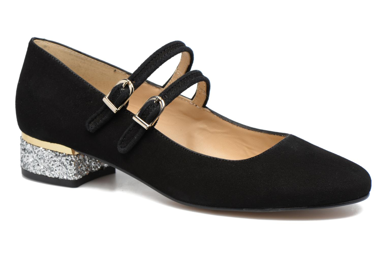Ballet pumps Made by SARENZA Funtastic Chick #2 Black view from the right